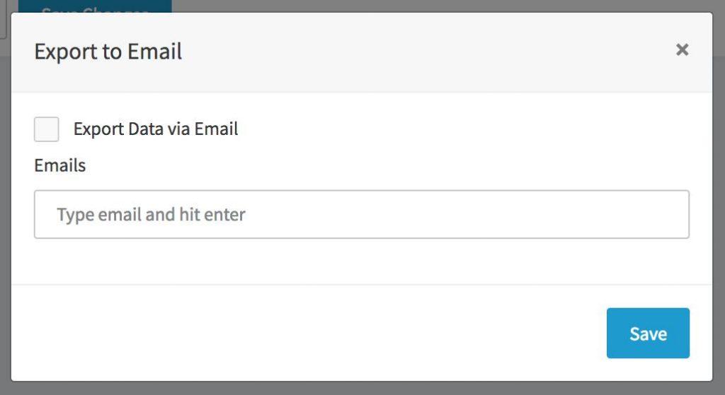 Recipe - Email Alerts